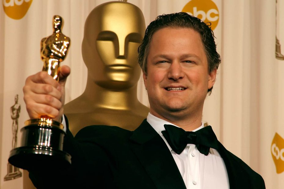 Florian Henckel von Donnersmarck with the Oscar